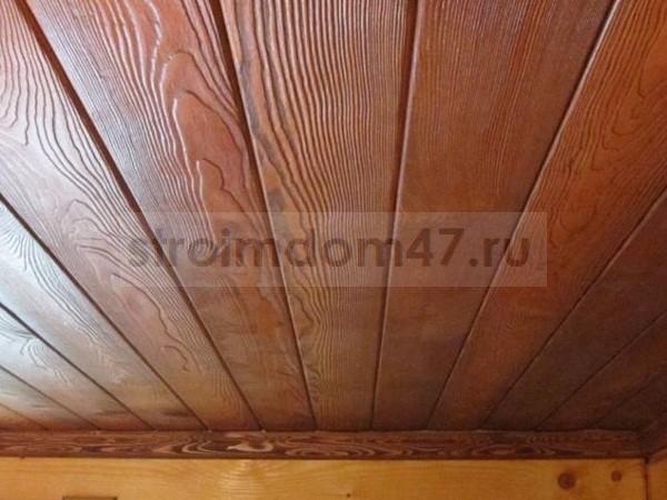 потолок из декоративных панелей