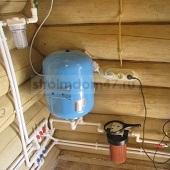 подключение скважины или колодца к дому