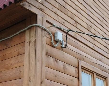 электроэнергия на доме