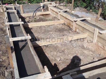 полное затвердивание бетона