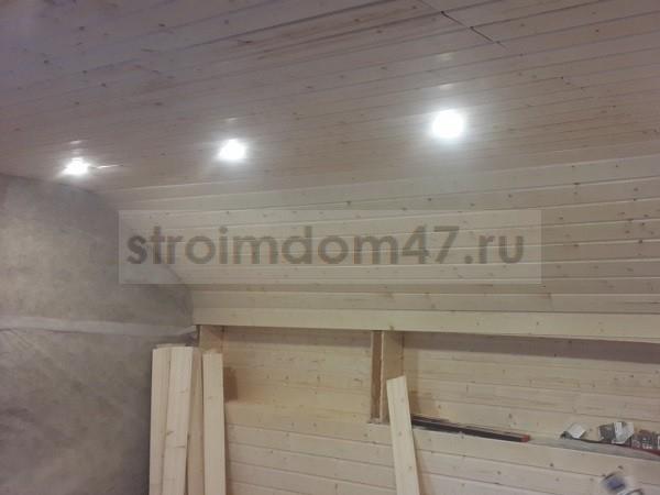 покрытие воском стен и потолка