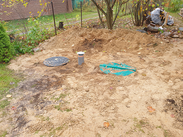 канализация снаружи